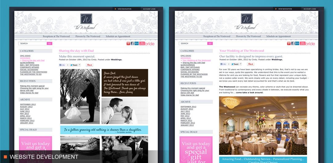 Wedding Blog Creation