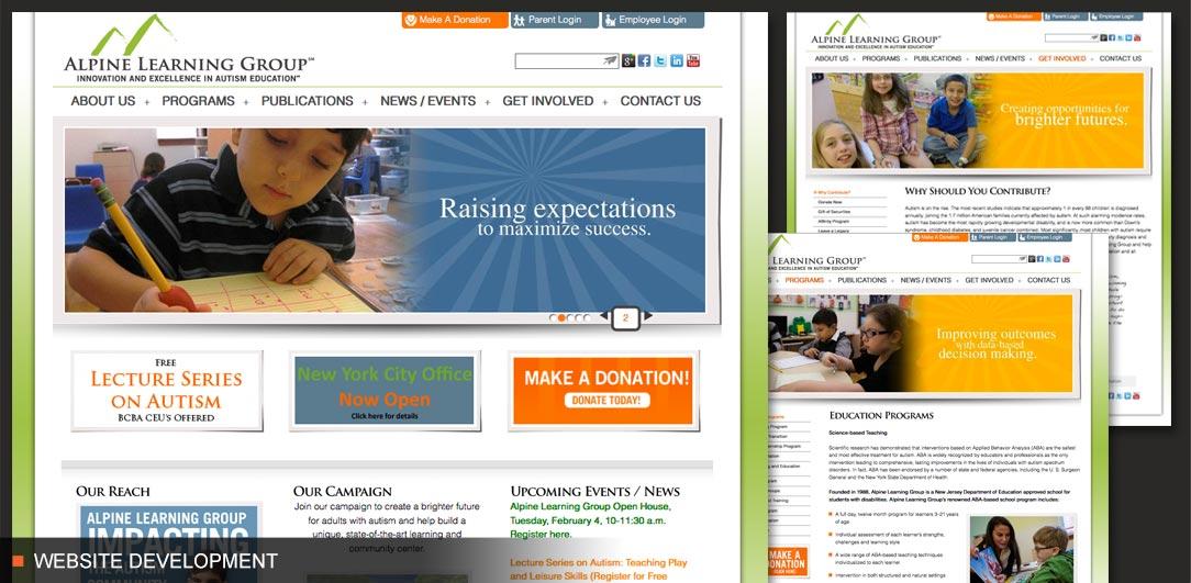 Alpine Learning Group Website Development