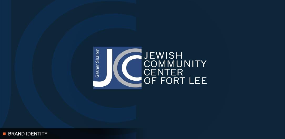 JCC of Fort Lee Congregation Gesher Shalom Brand Identity