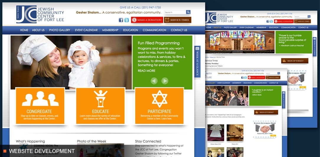 JCC of Fort Lee Website