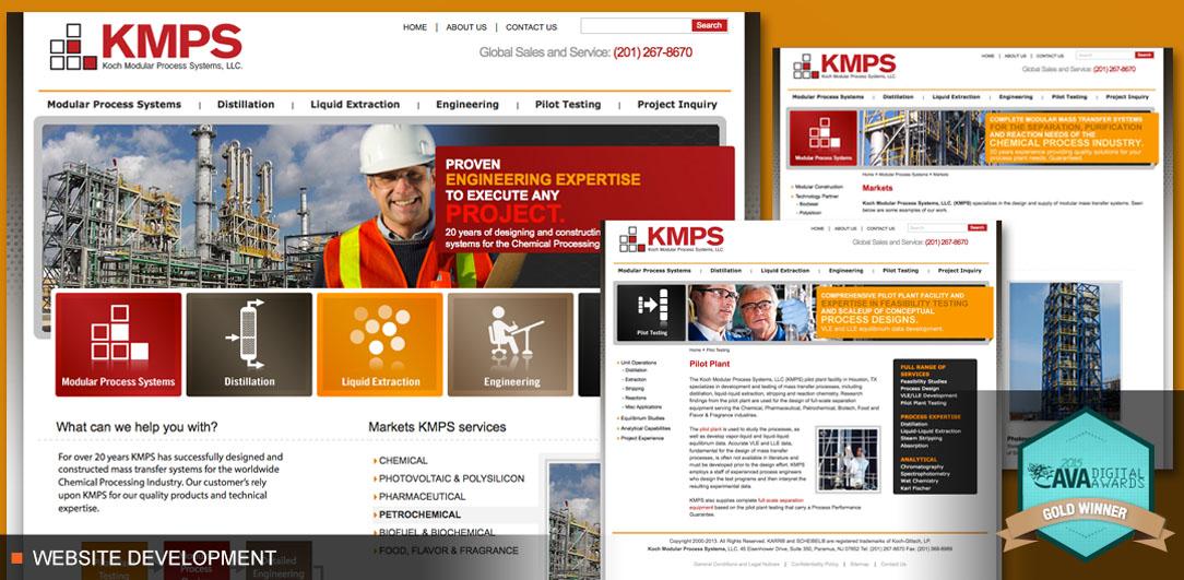 KOCH Modular Process Systems Website