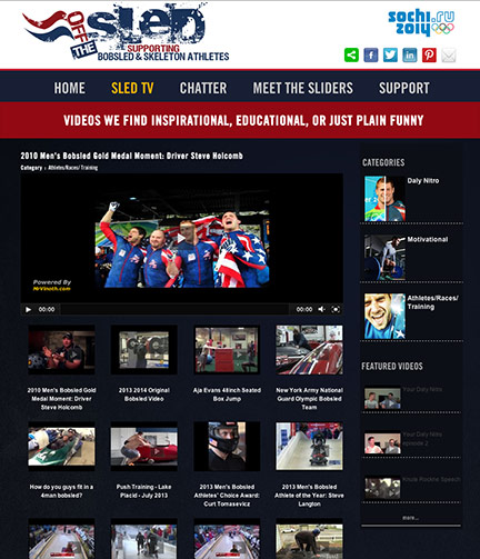 USA Bobsled and Skeleton Website