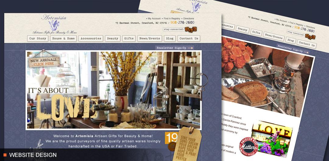 8fold Web Design for Lifestyle Company