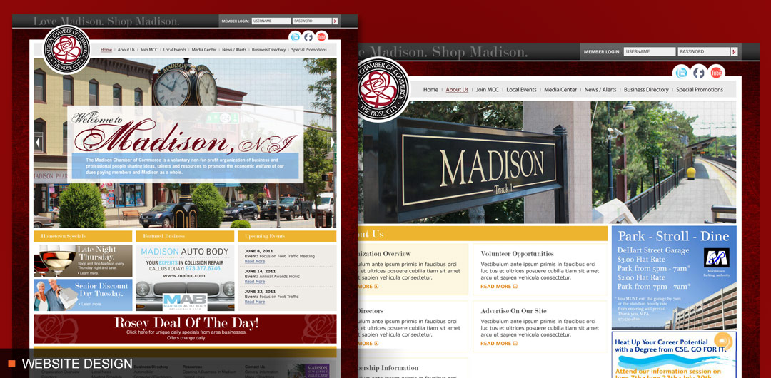 Madison Chamber of Commerce Website